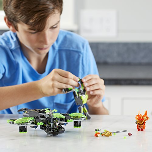 Low Cost Lego Berserker Building 72003 Knights Nexo Bomber Kit369 I9HD2EWY