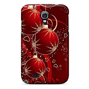 Dana Lindsey Mendez Fashion Protective Red Christmas Balls Case Cover For Galaxy S4