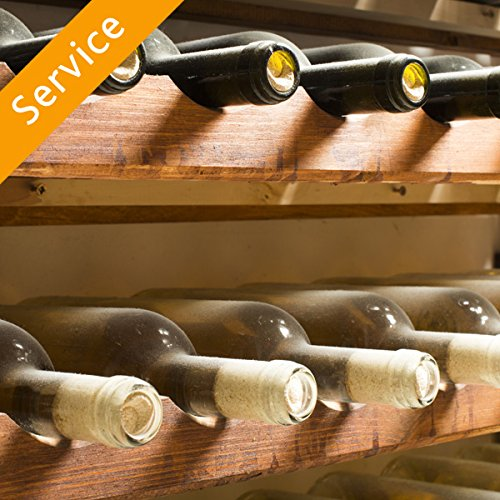 - Wine Rack Assembly - Up to 48 Bottles