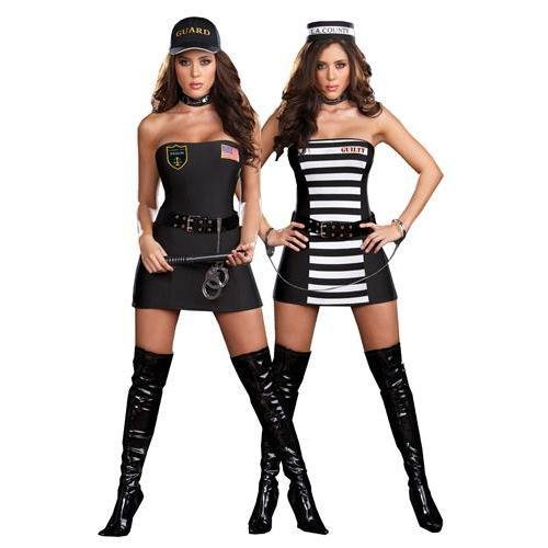 Crimes & Miss Demeanors Adult Costume - Large -