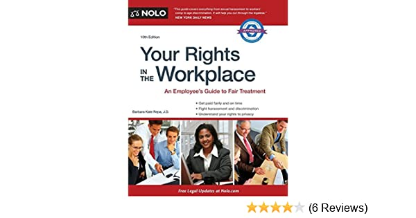 Your Rights in the Workplace by Barbara Kate Repa (2014-07-30): Barbara Kate Repa;Lisa Guerin J.D.: Amazon.com: Books