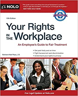 Your Rights in the Workplace by Barbara Kate Repa (2014-07-30) Paperback – 1734