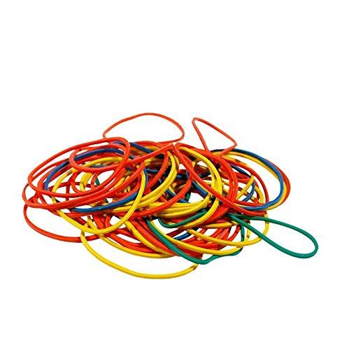 FMX - Set da 250 elastici di gomma colorati, ideali per cucina e ufficio 41-Z436-UOFG
