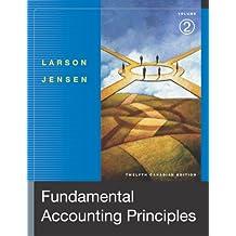 Fundamental Accounting Principles, Volume 2, Twelfth Edition