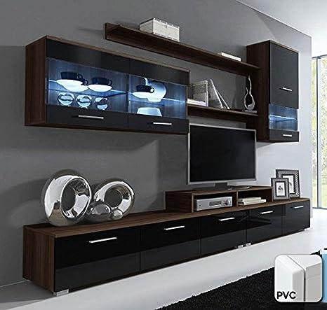 muebles bonitos - Mueble de salón Claudia Mod.11 Puerta PVC ...