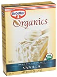 Dr. Oetker Organic Vanilla Icing Mix, 11.3-Ounce Unit (Pack of 4)