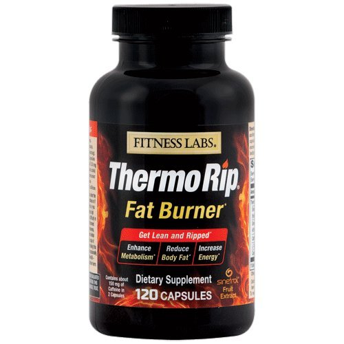 Cheap Fitness Labs Thermo Rip Fat Burner with Sinetrol Xpur, Green Tea, Caffeine, L-Tyrosine and Cayenne, 60 Servings
