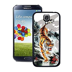 HP DFBlazing Colour Tiger Pattern 3D Effect Hard Case for Samsung Galaxy S4 i9500