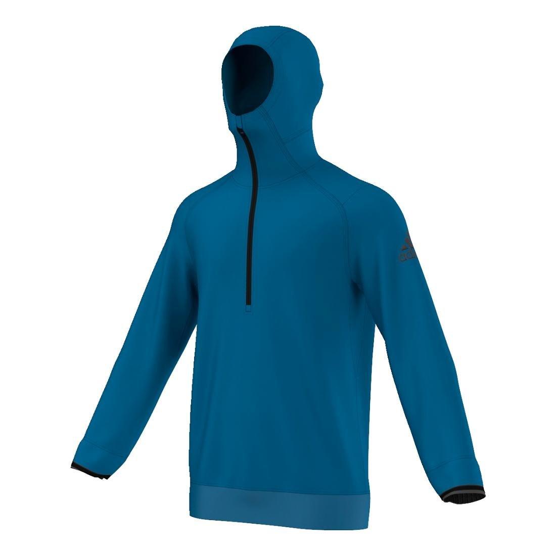 adidas Men's Climaheat Half Zip Hoodie