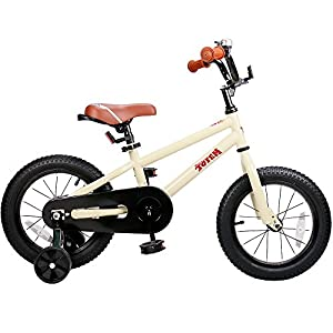 JOYSTAR Kids Bike with DIY Sticker for Enclose Chain Guard, Kids Bicycle with Training Wheel for Boys & Girls (12, 14, 16 inch)