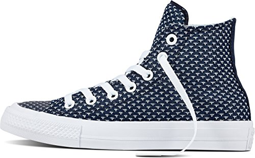 Sneaker White Chuck II Star All Obsidian 155457 White Converse Unisex Taylor 0wzqUxRf