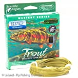 Cheap Scientific Anglers Mastery Series Freshwater Floating Fly Line – Trout Size WF3F – Dark Willow
