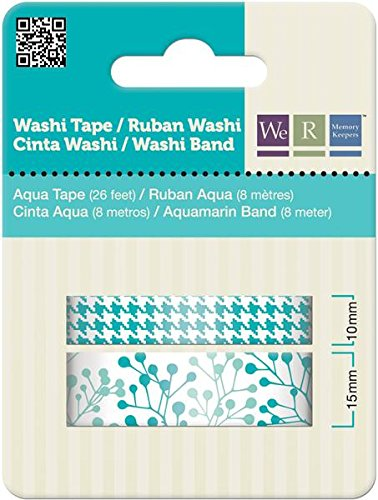 We R Memory Keepers Washi Tape, Aqua