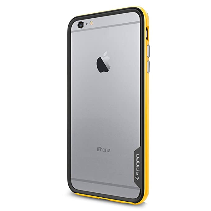 huge discount 49c5d 17c64 Spigen Neo Hybrid EX Designed for Apple iPhone 6s Plus Case/Designed for  iPhone 6 Plus (2014) - Reventon Yellow