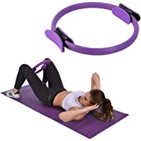 Chanhan Core Balance Pilates Resistance Ring, Dual Grip Magic Oefening Cirkel, Dubbel Handvat Dij Arm Toner, Fysieke…