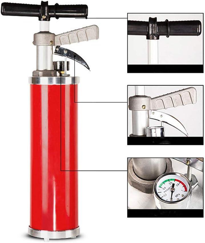 Bad und Kanalisation YSYDE Hochleistungs-Hochdruck-Lufttoilettenkolben Sp/ülkolben Druckpumpenreiniger f/ür K/üche Abflussreiniger