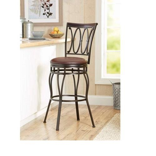 Better Homes and Gardens Adjustable Stool, Black