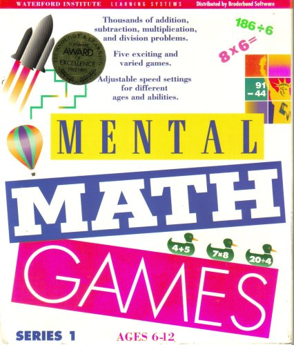 Mental Math Games ~ Version 1.4/1.5 (Ages 6-12) [MS-DOS 3.1 or - Ms Dos Games