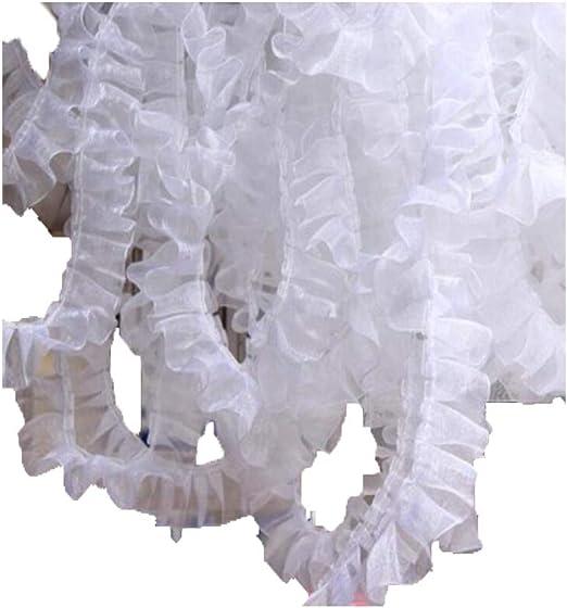 KOLIGHT - Falda de encaje para decoración de vestidos (20 metros ...