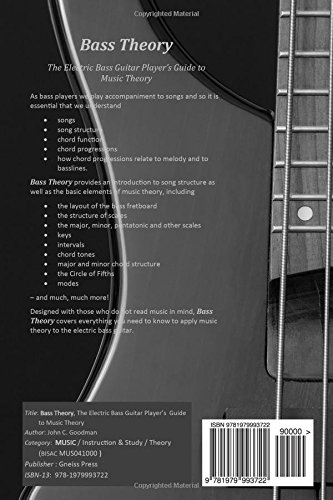 Bass Theory: The Electric Bass Guitar Player\'s Guide to Music Theory ...