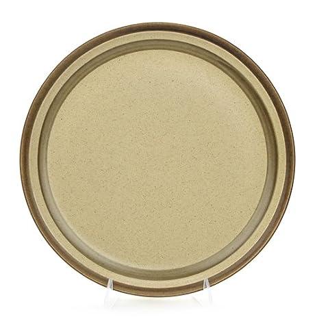 Amazon.com | Sand Dune by Studio Nova, Stoneware Dinner Plate ...