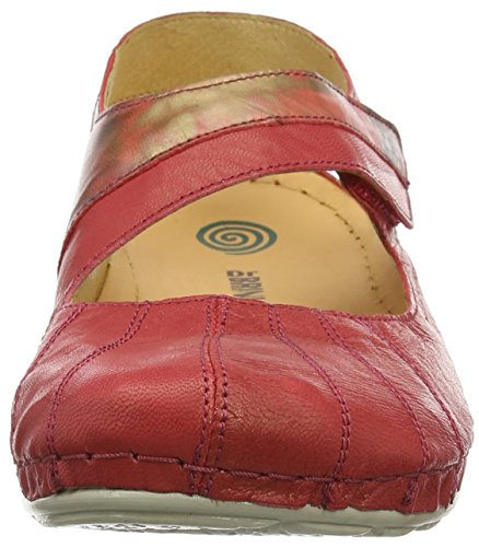 Dr. Brinkmann 710742 - Sandalias Cerradas Mujer Rojo - Rot (rot/feuer)