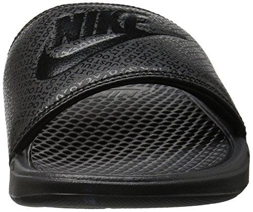 Nike Mænds Benassi Bare Gøre Det Atletisk Sandal Sort v8cV1