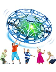 $21 » KToyoung Hand Operated Drones for Kids Adults,Hands Free UFO Drone Mini Drone Small Flying Ball Toy Indoor Outdoor Motion Sensor Helicopter Ball Toys for Kids 6 7 8 9 10 and Up Years Boys Girls Gift