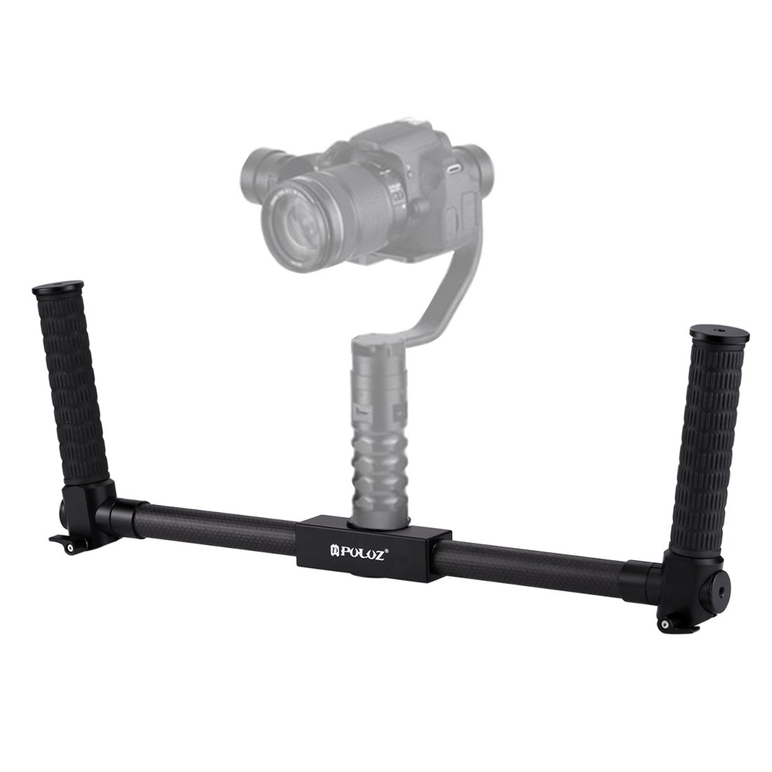 XIAOMIN Dual Handheld Grip Aluminum Tube Stabilizer Premium Material by XIAOMIN