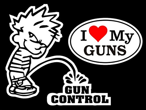 1-set-mighty-fashionable-boy-peeing-piss-gun-control-sticker-sign-24hr-protected-firearm-security-wi