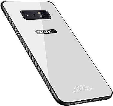 Blossom01 Funda Samsung Galaxy Note 8, Cubierta Trasera de Vidrio ...