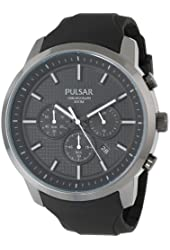 Pulsar Men's PT3205 Analog Display Japanese Quartz Black Watch