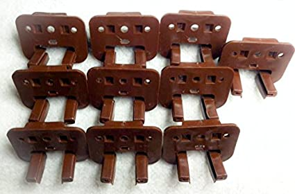 12 Kenlin Rite-Trak Dresser Drawer Replacement Stop Guide Glide Case Runners
