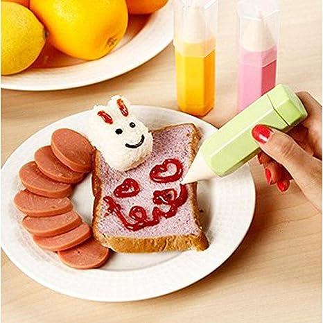 EQLEF® 3 pedazos / porción Alimentación Dibujo Conjunto de lápiz DIY ...