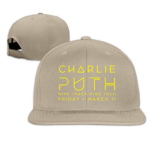 Price comparison product image TEEMO Unisex Adult Charlie Puth Snapback Hats