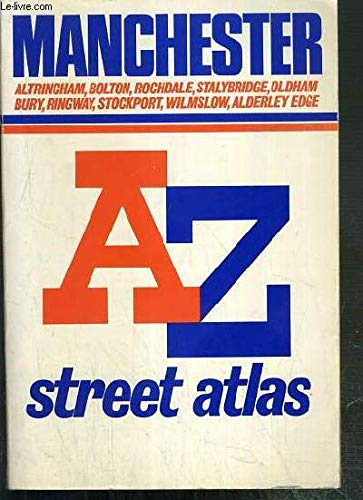 A-Z Atlas of Manchester (A-Z Street Atlas Series) (A-Z Street Maps & Atlases)