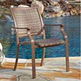 Panama Jack Outdoor Island Cove Woven Stackable Armchair Review