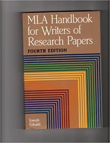 mla handbook of research papers