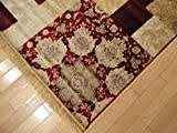Luxury Silk Area Rugs 5×8 Modern Rug For Living Room Red Beige Green Cream 5×7 Rugs For Living Room Under 50 Red Modern Rugs Review