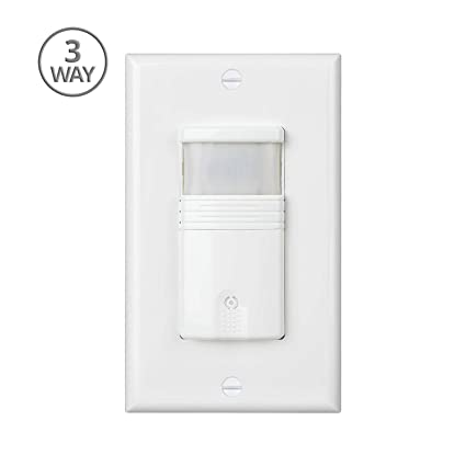 Pack Of 10 White Motion Sensor Light Switch Neutral Wire