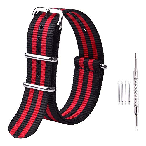 aps Nylon Watch Bands Compatible with Timex Weekender Watch for Men Women ()