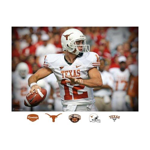 UPC 885671033577, NCAA Texas Longhorns Colt McCoy Mural Wall Graphic