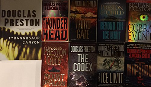 Douglas Preston and Lincoln Child Adventure Series Collection 9 Book Set