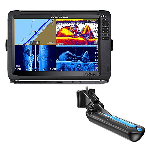 Lowrance Navico HDS-12 Carbon Insight Mid/High 3-D Transduce
