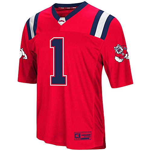 Colosseum Mens Fresno State Bulldogs Football Jersey - XL