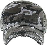 KBETHOS Vintage Washed Distressed Cotton Dad Hat