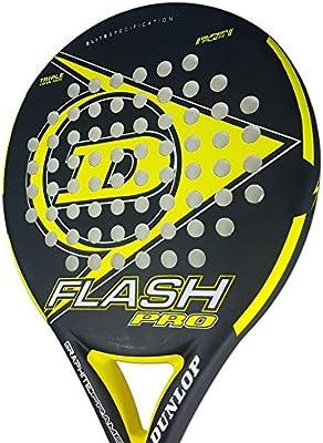 DUNLOP Flash Pro Pala Pádel de Tenis, Unisex Adulto