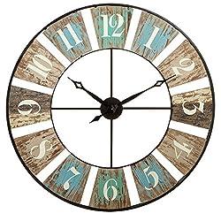 CBK Wood Weathered Wall Clock 130522
