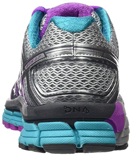 Brooks Women's Adrenaline GTS 17 Gymnastics Shoes Multicolor (Silver/Purplecactusflower/Blue) YpLLcRA