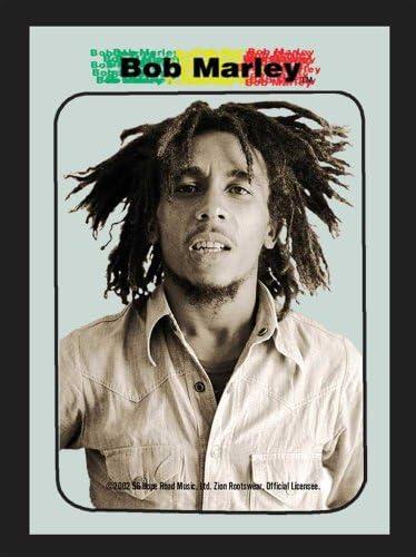 empireposter Marley BobPotraitgrootte cm ca 20x30Bedrukte spiegel NIEUWbeschrijvingBedrukte wandspiegel met zwart kunststof frame in houtlook
